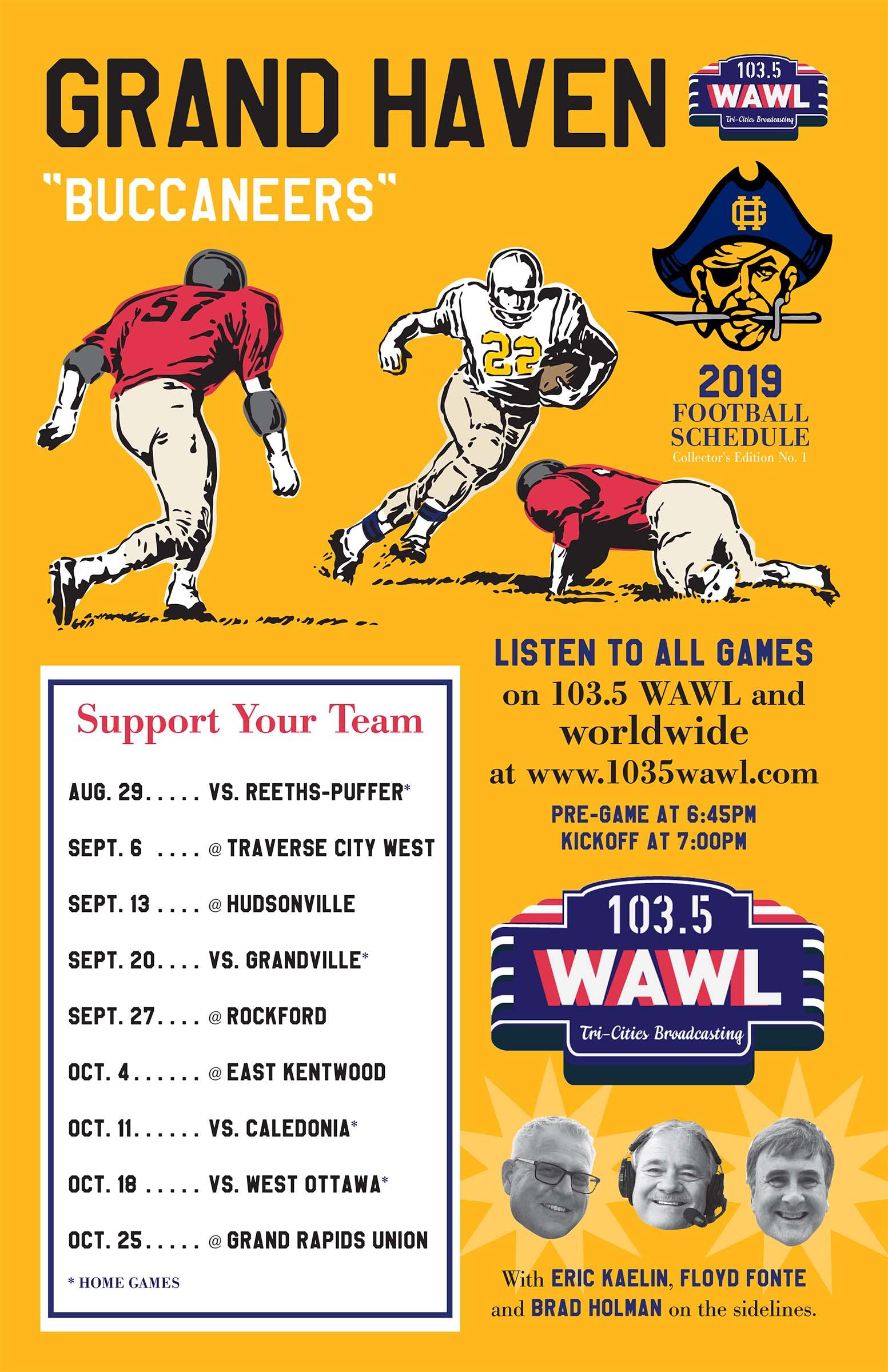 Grand Haven radio - 103 5 WAWL
